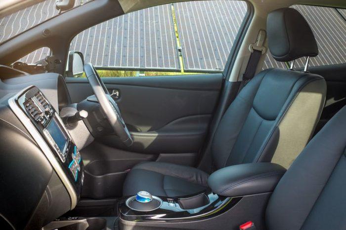 Nissan Leaf Interior UK Tekna