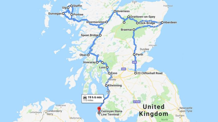 Map - Full Trip