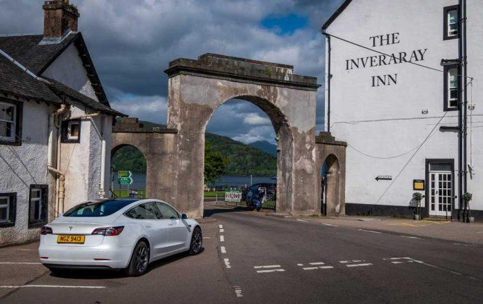 Tesla Model 3 - Inveraray, Scotland