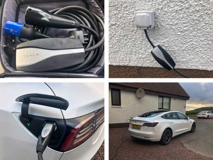Tesla Model 3 UK - UMC Charging