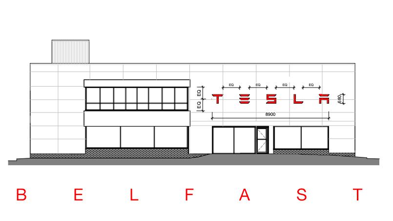Tesla Store Belfast