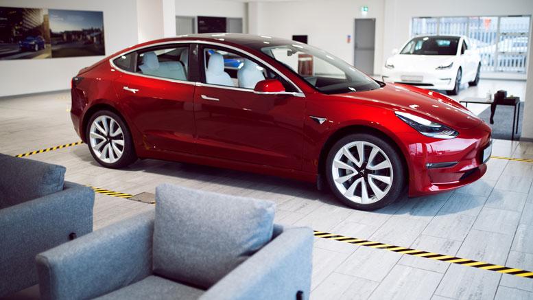 New Tesla Service Centre Belfast Northern Ireland